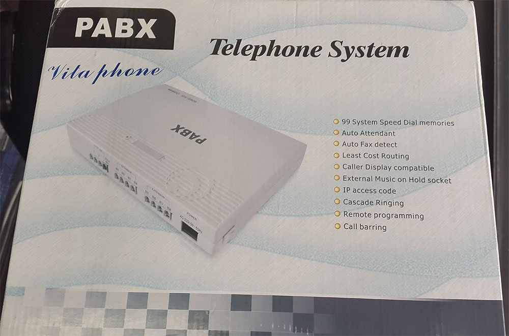 download manual pabx vitaphone