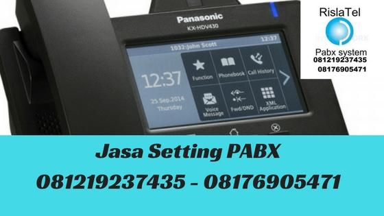 jasa setting pabx