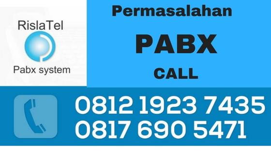 pabx tidak bisa telpon masuk
