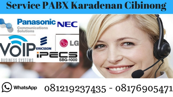 service pabx karadenan cibinong