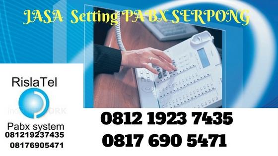 jasa setting pabx serpong