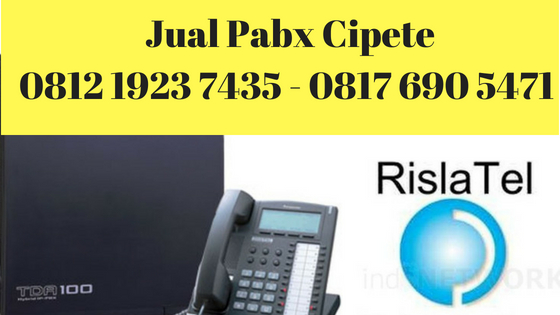 jual pabx cipete