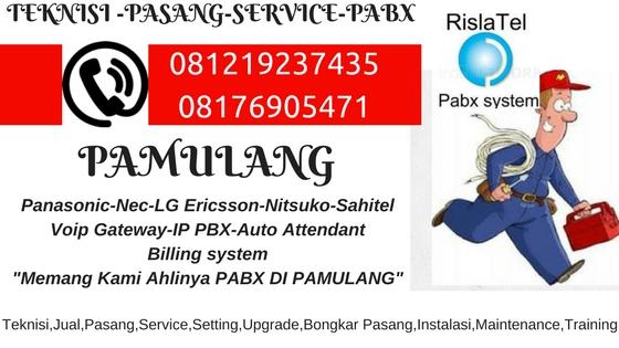 service pabx pamulang