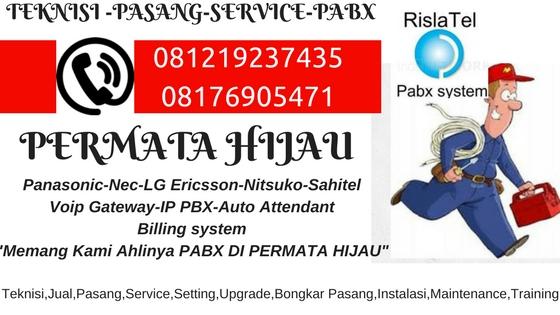 service pabx permata hijau