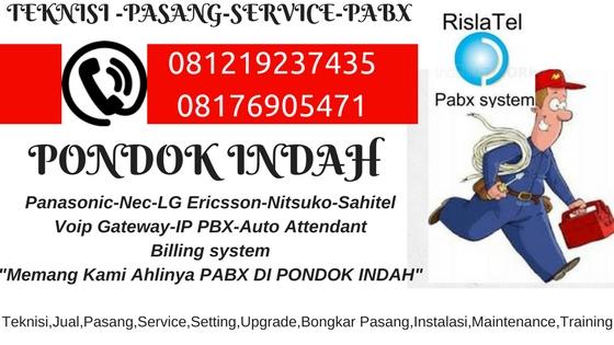 service pabx pondok indah