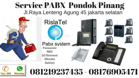 service pabx pondok pinang