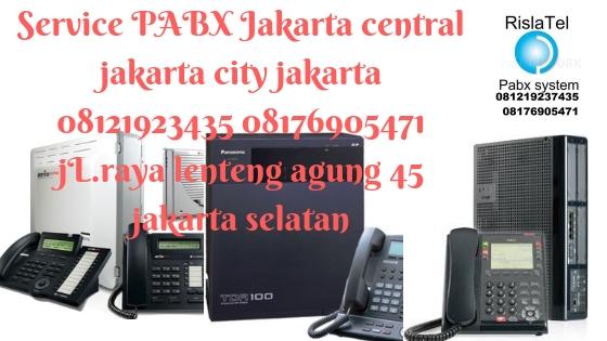 service pabx jakarta central city jakarta