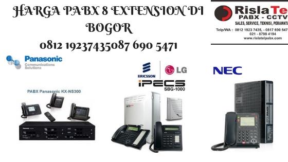 harga pabx 8 extension di bogor