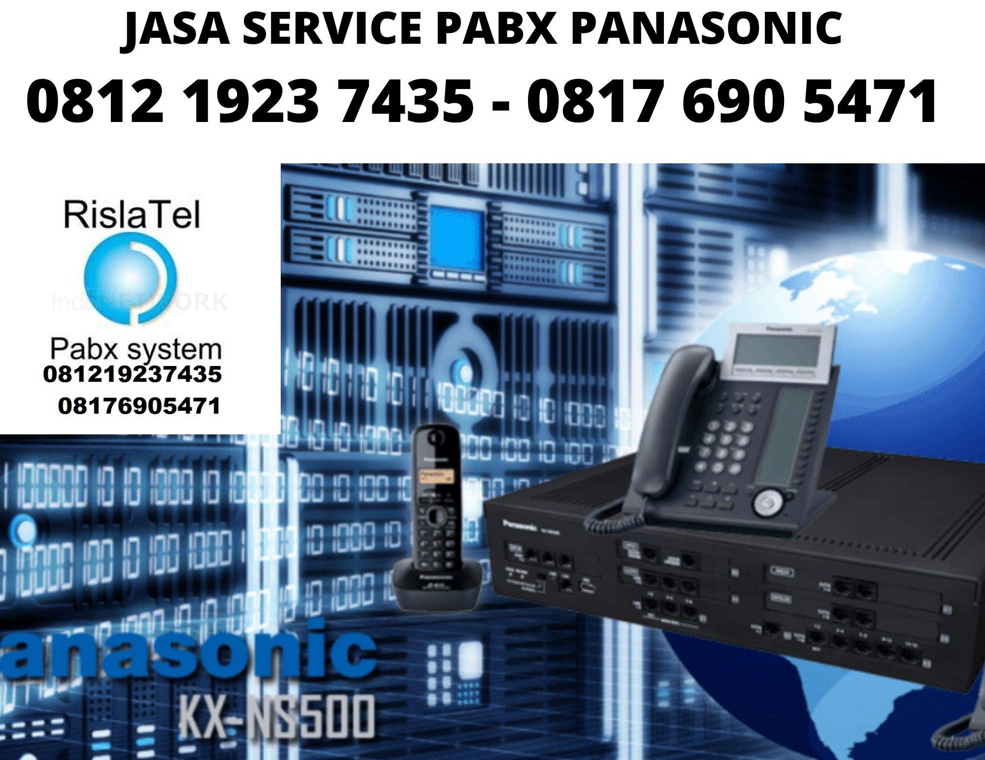 Jasa Service PABX Panasonic