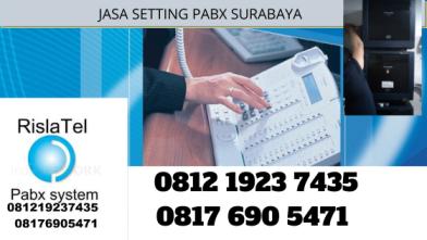 jasa setting pabx surabaya