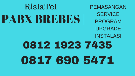 service setting pabx brebes